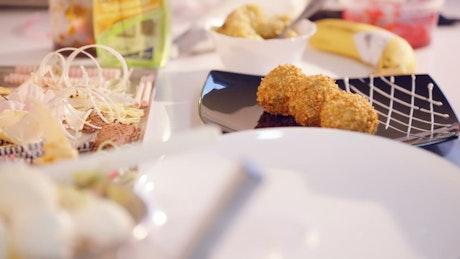 Preparing luxury meals