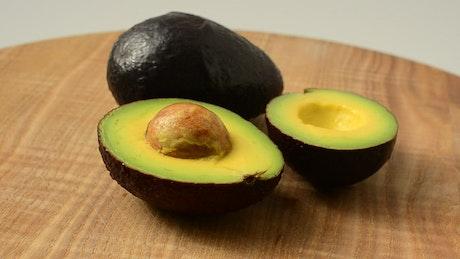 Presentation of avocados
