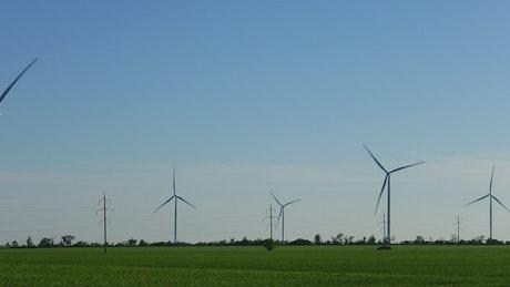 Producing renewable energy