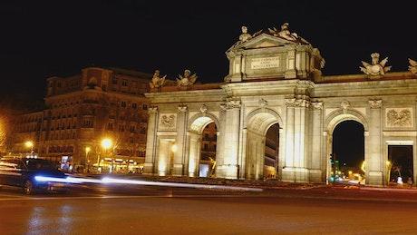 Puerta de Alcala, full shot