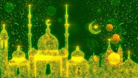 Ramadan Mubarak bright