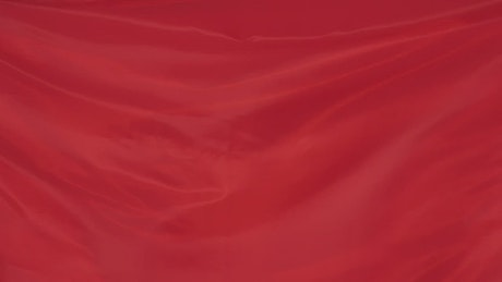Red wavy fabric texture