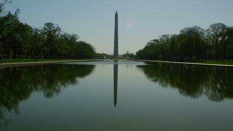 Reflection of the Washington Monument