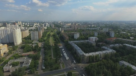Residential area of Moscow