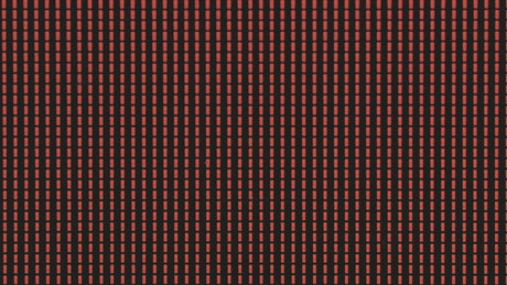 RGB light pattern of a display in detail