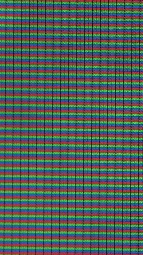 RGB lights on a screen