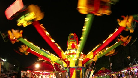 Ride at a carnival