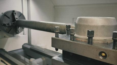 Robotic lathe calibration