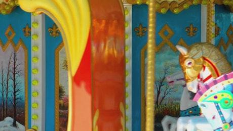 Rocking horse carousel