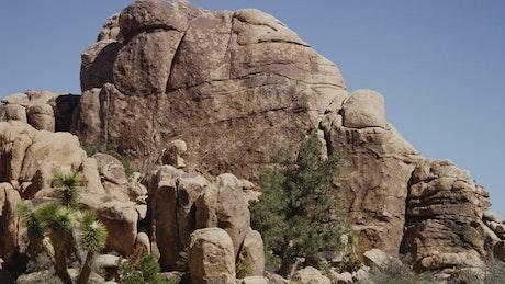 Rocky hills in the desert