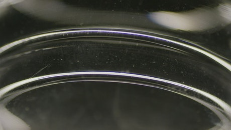 Rotating transparent shape
