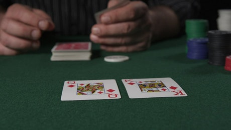Royal Flush in a game of Poker