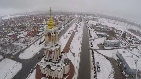 Saint George Church in Russia