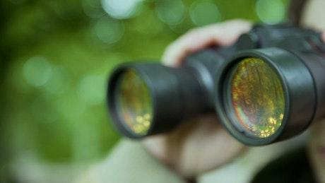 Scouting binoculars
