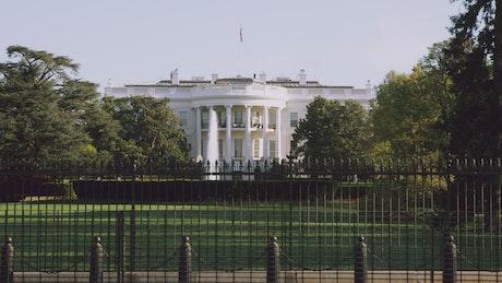 Secret Service on the White House