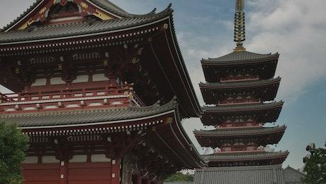 Sensoji Shrine in Tokyo, Japan
