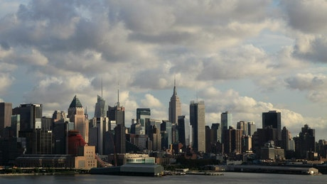 Shadows covering NYC