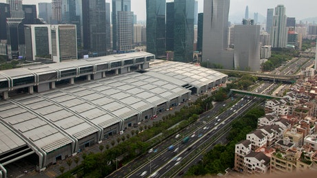 Shenzhen central business district
