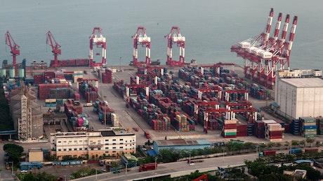 Shenzhen container port terminal