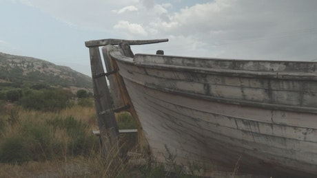 Ship in ruins