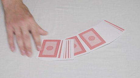 Shuffling a normal deck of cards