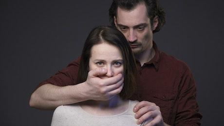 Silenced victim of abuse
