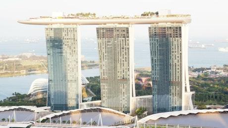Singapore Marina Bay time lapse