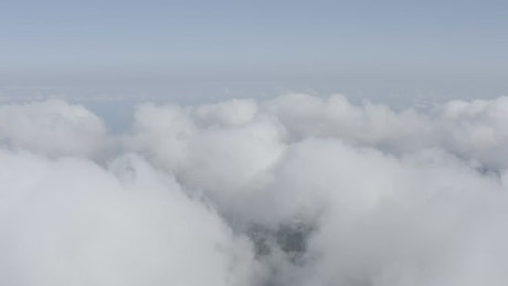 Sitting above the clouds