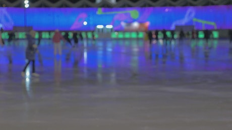 Skating late at night