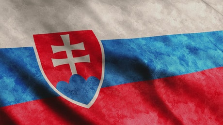 Slovakia 3D render flag