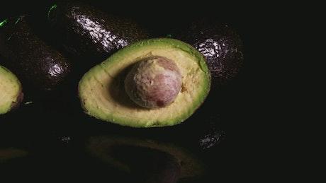 Small halves of Avocado