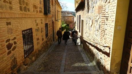 Small streets in Toledo