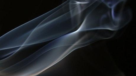 Smoke ripples