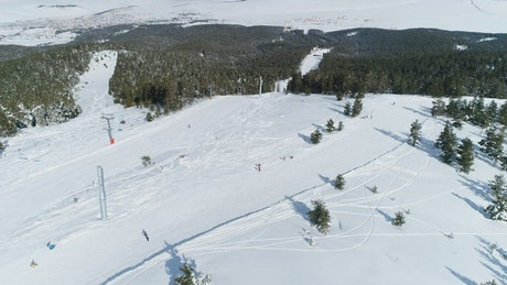 Snowboarding in the day