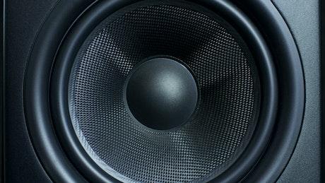 Speaker vibrating