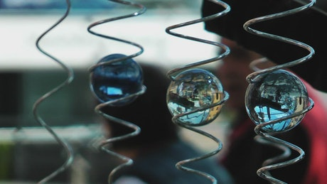 Spiritual Glass Spheres