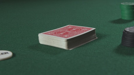 Splitting a deck of cards