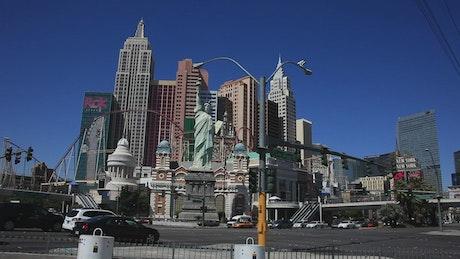 Statues in Las Vegas