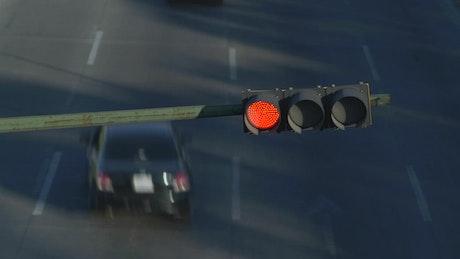 Stoplight timelapse