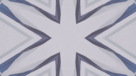 Strange video of compositions obtained from a kaleidoscope
