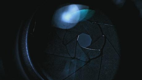 Studio camera lens