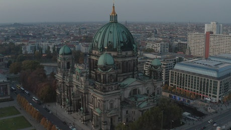 Stunning architecture of Berlin Cathedral