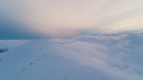 Stunning snowy landscape