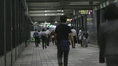 Subway network in Tokyo