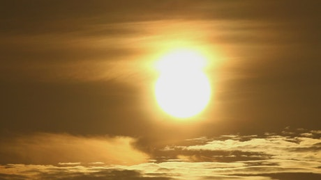 Sunrise in the tropics