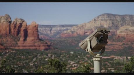 Surveillance camera in Sedona