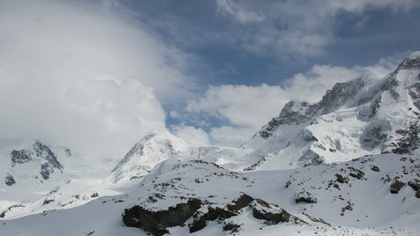 Swiss Alps, time-lapse