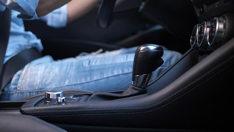 Switching gears in a modern car
