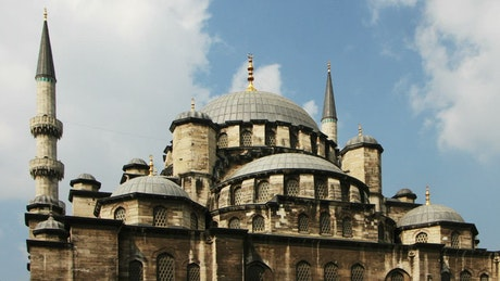 Symmetrical mosque