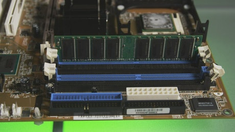 Taking out a stick of RAM